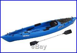12' Kayak With Bonus Paddle Fishing Rod Holders Outdoor Water New