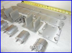 2 Cisco Triple Rod Holder Thumb Screw Mounts Indexing Bases (mounts Only)