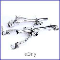 2Pcs Stainless Adjustable Sidekick Base Fishing Outrigger Pole/Rod Holder-M3111S