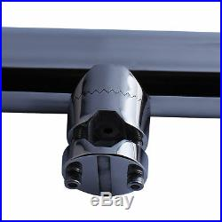 2X Stainless Steel Fishing Rod Holder Clamp-on for 1 to 1-1/4 Rails for Boat