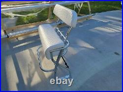 36 wide Leaning Post For Center Console Fishing Boat Rod Holders backrest