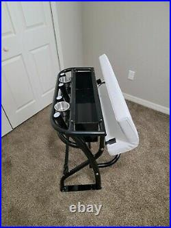 38wide Leaning Post For Center Console Fishing Boat Rod Holders With Cup