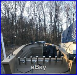 4 5 6 7 8 Tube Adjustable Stainless Rocket Launcher Rod Holders, Rotated 360 Deg