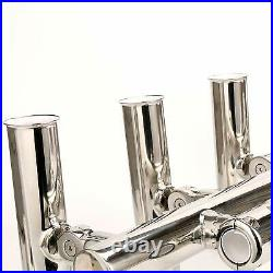 5 Fishing Rod Holder Adjustable Boat T Top Rocket Launcher 1 to 1-1/4