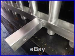 5 Pole Hitch Mounted Aluminum Fishing Rod Holder / Rack