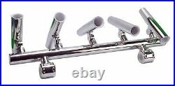 5 Rod Holders Adjustable Fishing Console Boat T Top Rod Holder Rocket Launcher