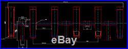 6 Tube Marine Boat Adjustable Fishing Rocket Launcher Rod Holder Stainless Steel