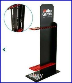 Abu Garcia Delux Fibreboard Fishing Rod Stand Brand New in Box- 20 Rod Holder