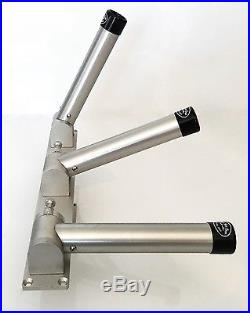 Adjustable Multi-Position Triple Bolt On Rod Holder High Seas Gear 5 Position