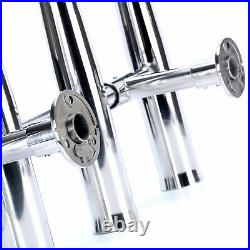 Amarine-made 4 Tube Adjustable Stainless Rocket Launcher Rod Holders Can Be R