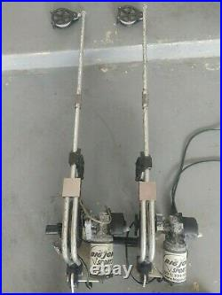 BIG JON ELECTRIC DOWNRIGGERS WithROD HOLDERS, COUNTER