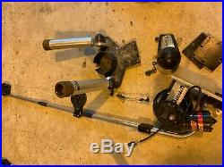 Big Jon Electric Downrigger With Dual Adjustable Rod Holders 9 Lb Ball & Counter