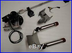 Big Jon Electric Fishing downrigger with rod holders and cannon ball holder
