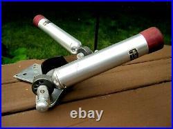 Big Jon Sports Trolling Systems Dual Rod Holders With Aluminum Base Easy Adjust
