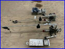 Big Jon Tournament Electric Down Rigger Double Rod Holder Used