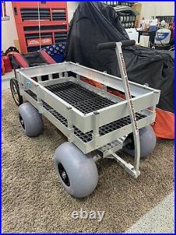 Big Kahuna Beach & Fishing Cart Wagon-UV DECK