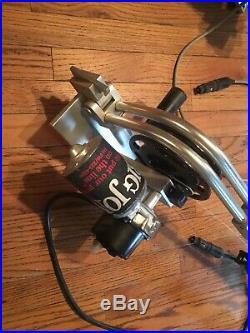 Big jon Captains Pak Electric Downriggers Swivel Mounts Dual Rod Holders Rigger
