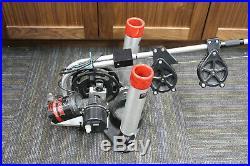 Big jon electric downrigger dual rod holder