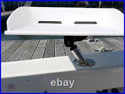 Brocraft Bait Table/ Boat Fillet Table / Boat Cutting Board for Rod Holder Mount