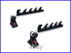 Brocraft Crappie Rod Holder/Crappie Rod Transport Rack/Boat Rod Storage System