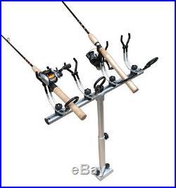 Brocraft Crappie fishing rod holder withTelescopicT-bar / crappie rod holder