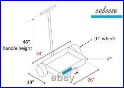 CABOOSE Fishing Cart Beach Buggy Hitch Cart