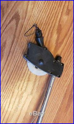 Cannon Easi Troll Manual Downrigger with Fishing Rod Holder and line counter