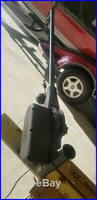 Cannon Mag 10 Electric Downrigger, Rod Holder, 8 lb Lead ball clip and release