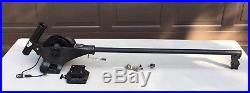 Cannon Magnum 10A Electric Downrigger with36 Boom, Rod Holder, Low Profile Swivel