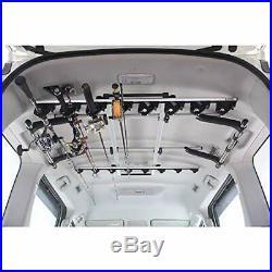 Carmate Car Fishing rod holder inno Car-mounted Simple J hook 8 stacks IF17 #yu4