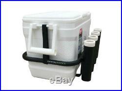 Coastal Racks fishing rod holder cooler rack and cooler