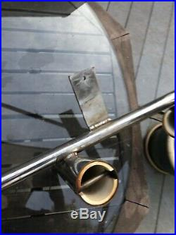 Custom Rocket Launchers Rod Holders Set Of 6 With Offset Stainless