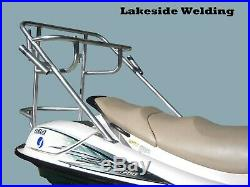 DECK OR DOCK MOUNT 5 ROD FISHING POLE HOLDER- Made in USA