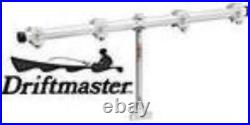 Driftmaster T250 4 Place Trolling Bar With Bases Fits 3/8 Rod Holders 23195