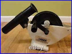 Easi Troll Cannon Downrigger with Rod Holder, Line Counter, Wire, Clip fishing