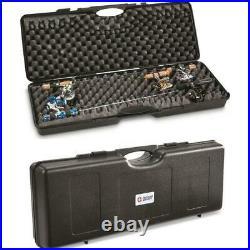 FISHING ICE 8 ROD POLE HARD CASE Heavy Duty Storage Box 34 Lightweight Holder