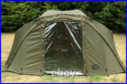 FOX NEW R-Series Brolly SYSTEM with Groundsheet Carp Fishing CUM259