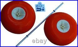 Fish-N-Mate 334 15 Poly Wheel Sr & Jr Cart Kits