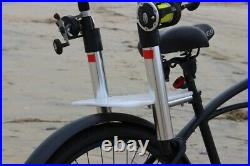 Fish-N-Mate Wheels on Reels Bike Seat Rod Holder # 761 2-Rod Holder NEW
