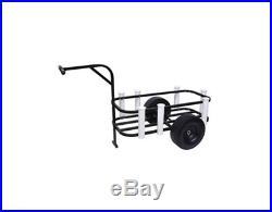 Fishing Cart Pier Beach Surf Rod Reel Cooler Holder Rack Wheels Gear Carrier
