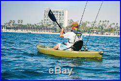 Fishing Kayak 10 Ft Paddle Included Adjustable Padded Seat Fishing Rod Holder