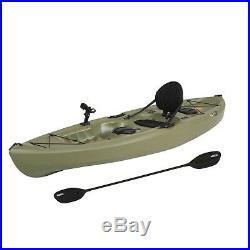 Fishing Kayak (Paddle Included), Fishing Rod Holder Two Hatches Storage Beneath