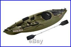 Fishing Kayak Sport Fisher Angler Sit On Kayaks Rod Holders Paddle Included Fish