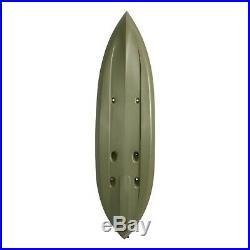 Fishing Kayak with Paddle Fishing Rod Holder Padded Seat Back Water Sport Boat