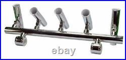 Fishing Rod Holder 5 Tube Angle Adjustable Console Boat Rocket Launcher Holder
