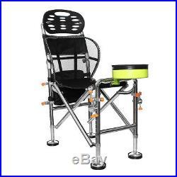 Folding Fishing Chair Portable Outdoor Camping Umbrella Rod Bracket Holder Seat