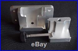 Four Custom Machined Rod Holder Bracket For AlumaTrac