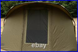 Fox EOS 2 Man Bivvy CUM257 Full Frame Support Supplied Khaki NEW Carp Fishing