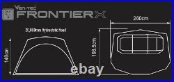 Fox Frontier X Bivvy / Mozzy Mesh / Vapour Peak / Overwrap Fishing In Stock