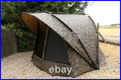 Fox R Series XL 1 Man Bivvy Fishing Shelter, camo